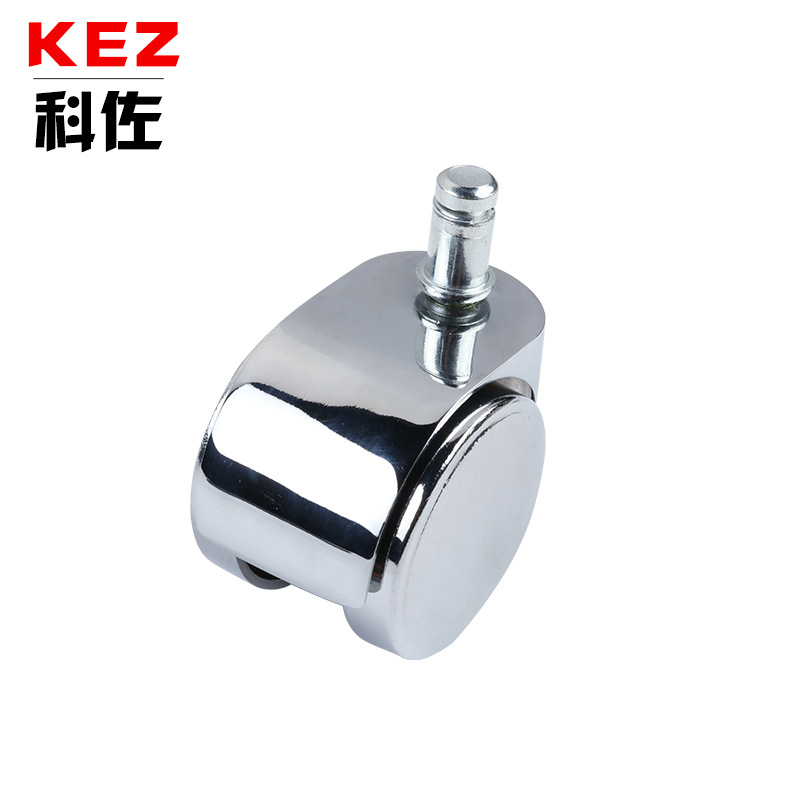 KEZ Anti-static all alloy card slot mute pulley 2 inch universal office chair caster roller pulley