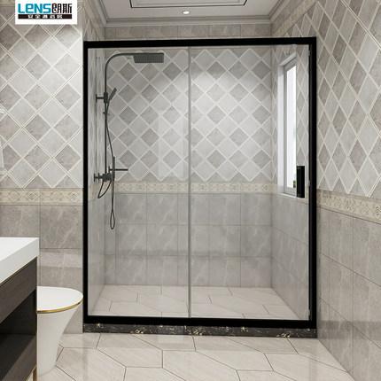 LENS Bồn đứng tắm Ống kính Phòng tắm P21 trang nhã tổng thể phẳng đơn giản phân vùng phòng tắm tùy c
