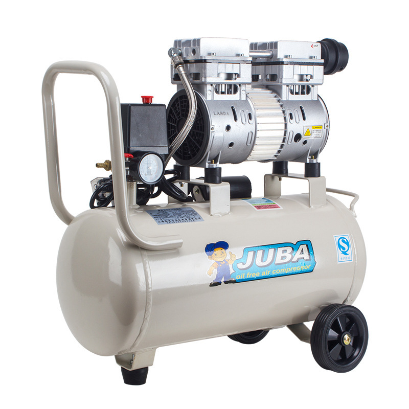 JUBA Huraba air compressor 800W-30L oil-free silent air compressor small pump dental medical woodwor