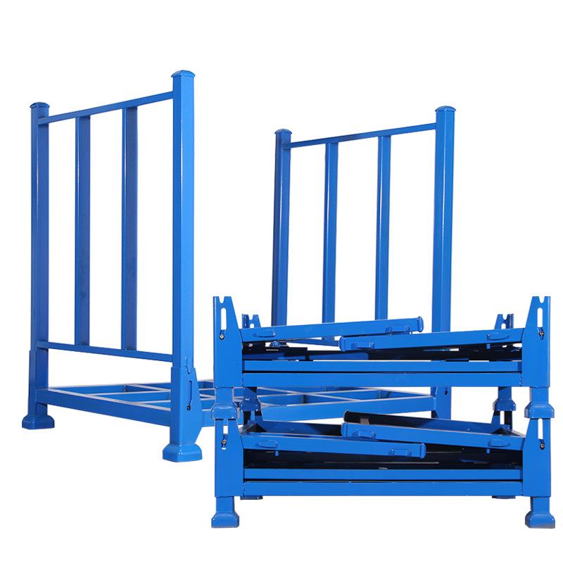 WEIGAO Manufacturers metal shelf cloth storage rack heavy smart frame stacking shelf folding rack wh