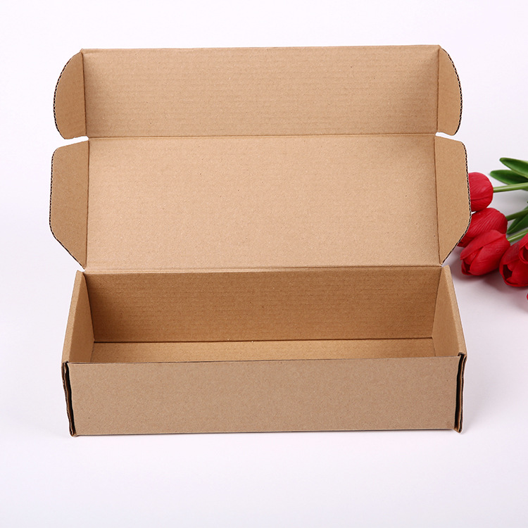 YACHUAN Aircraft Box Spot Color Box Packaging Box Customized Express Carton Corrugated White Box Thr