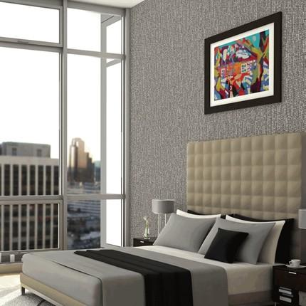 Giấy dán tường  Magnolia cao cấp tường bao phủ toàn bộ ngôi nhà phòng khách hiện đại tối giản giấy d