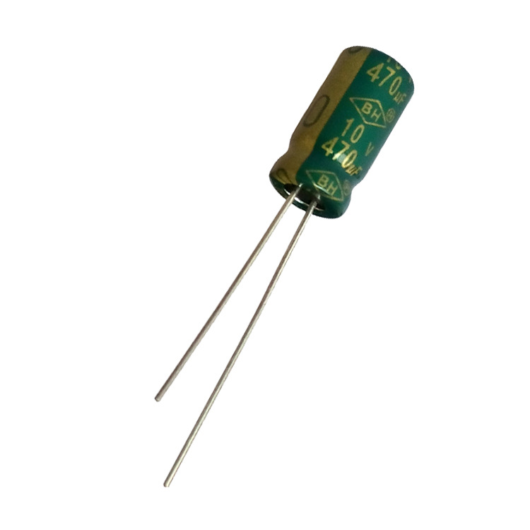 BH 470uf10v electrolytic capacitor LED special aluminum electrolytic capacitor 5000 hours long life