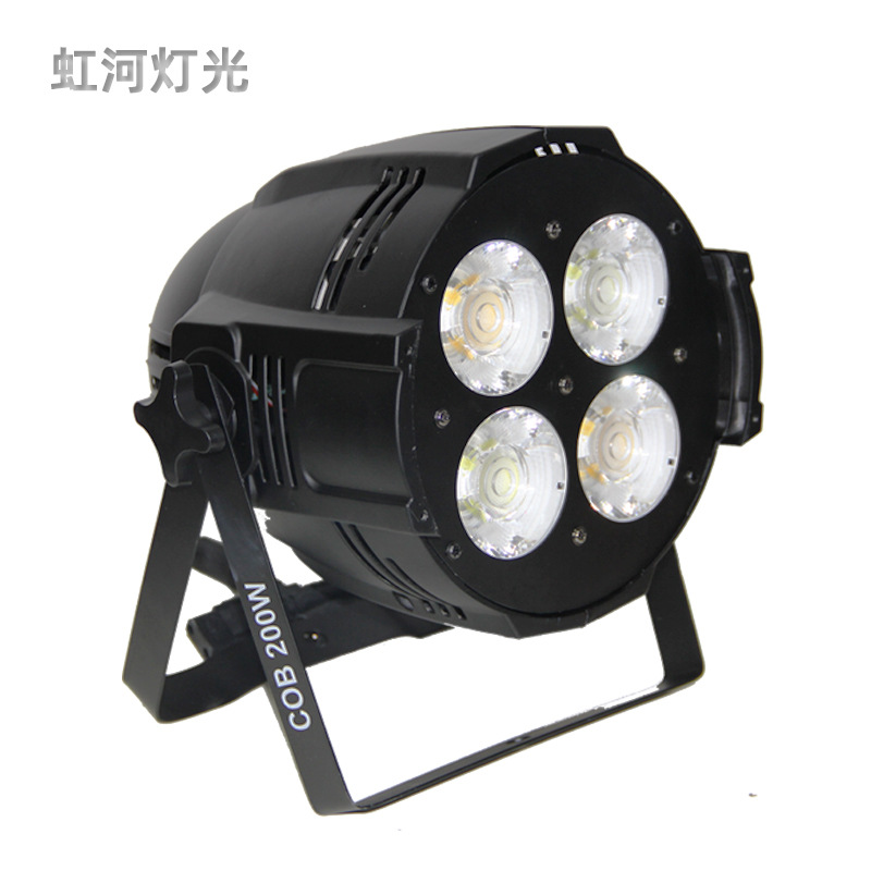 Four eyes COB par light 200W audience light wedding warm white light dyeing stage surface light stag