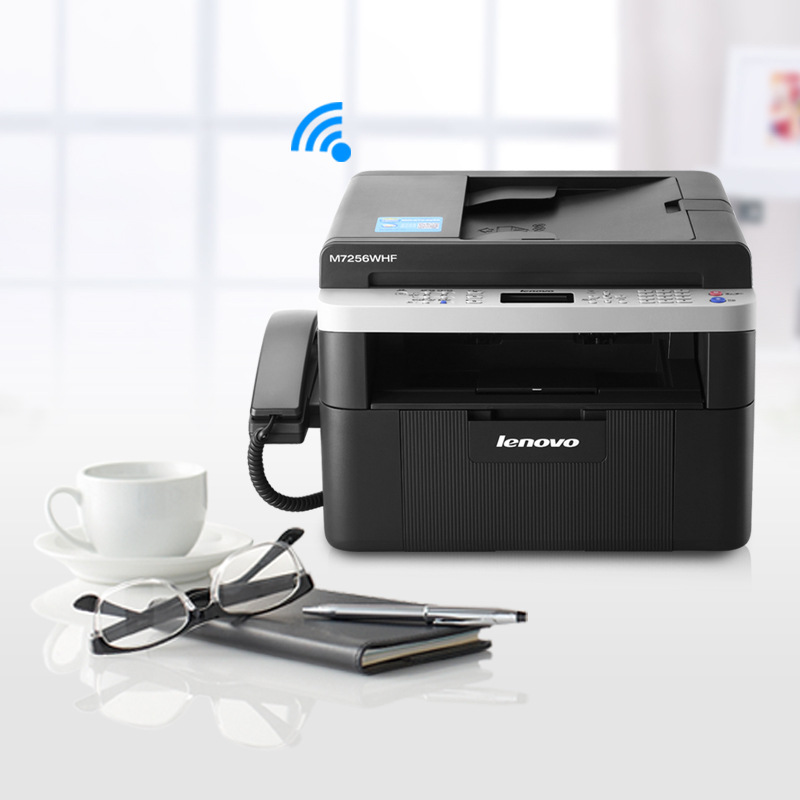 Lenovo M7256WHF wireless laser fax machine printing all-in-one copy scanning commercial office