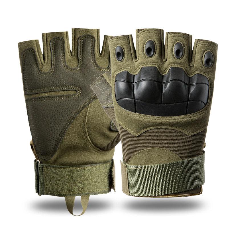 ZECHAO Tactical gloves men and women Z902 outdoor half-finger protective sports training outdoor mil