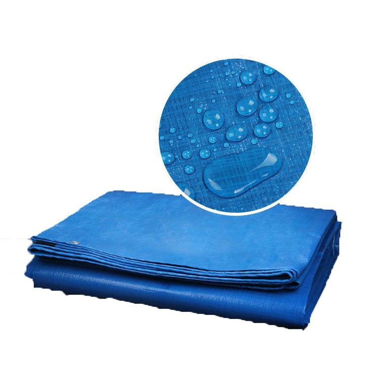 SHENGDE Waterproof and rainproof cloth outdoor shade cloth plastic woven rain tarpaulin shed cloth b