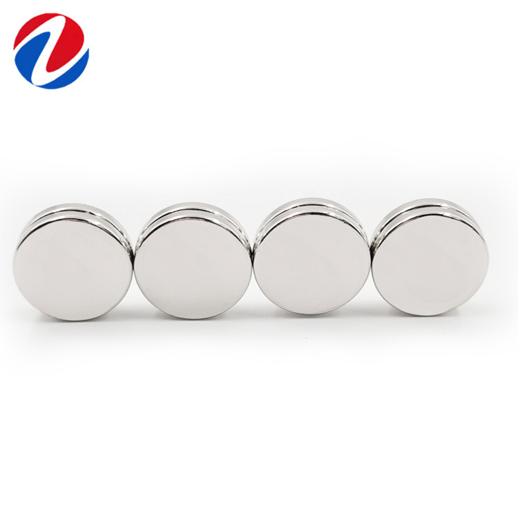 HAOQI Powerful NdFeB cylindrical d20x1 / 1.5/2/3/4/5mm magnet for computer