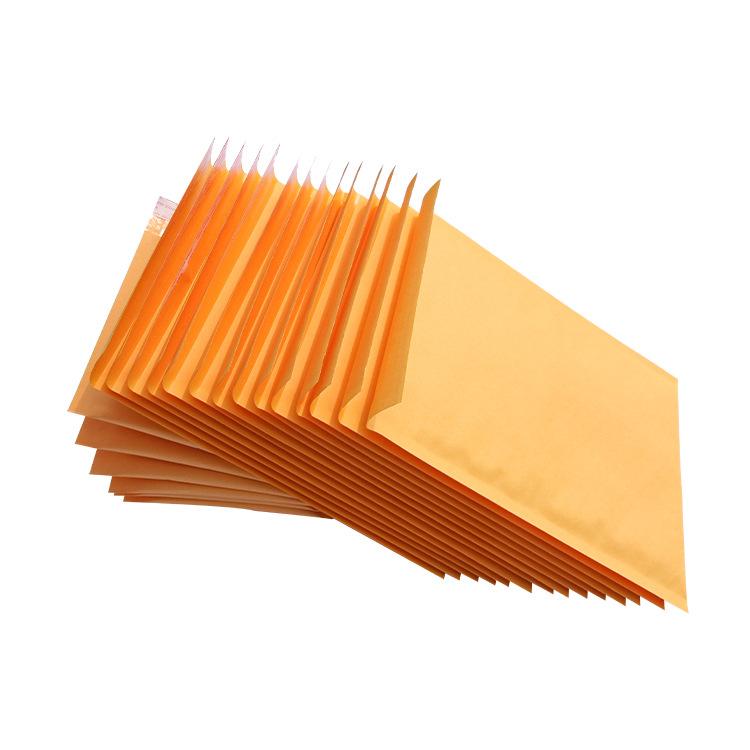 HUIYOU Yellow kraft paper foam bag express parcel bag bubble envelope spot