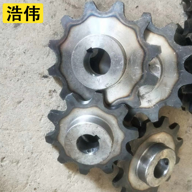 HAOWEI Factory direct sales gear sprocket non-standard customized multiple specifications sprocket c