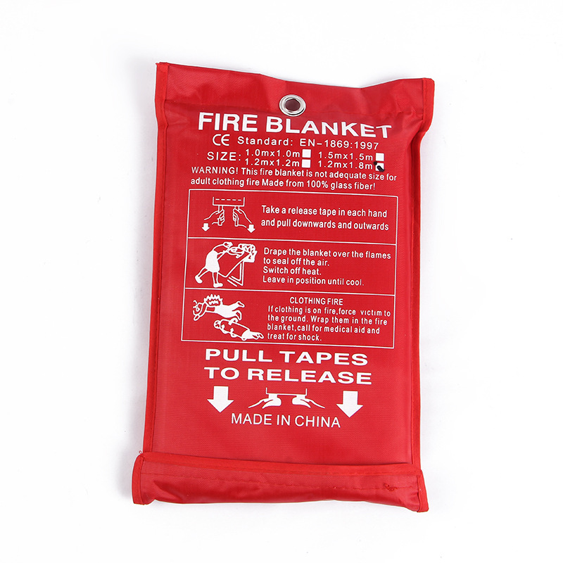 SHUAIQIANG Fire blanket 1 meter 8 by 1 meter 2 exit 1 meter 2 by 1 meter 2 large fire protection lab