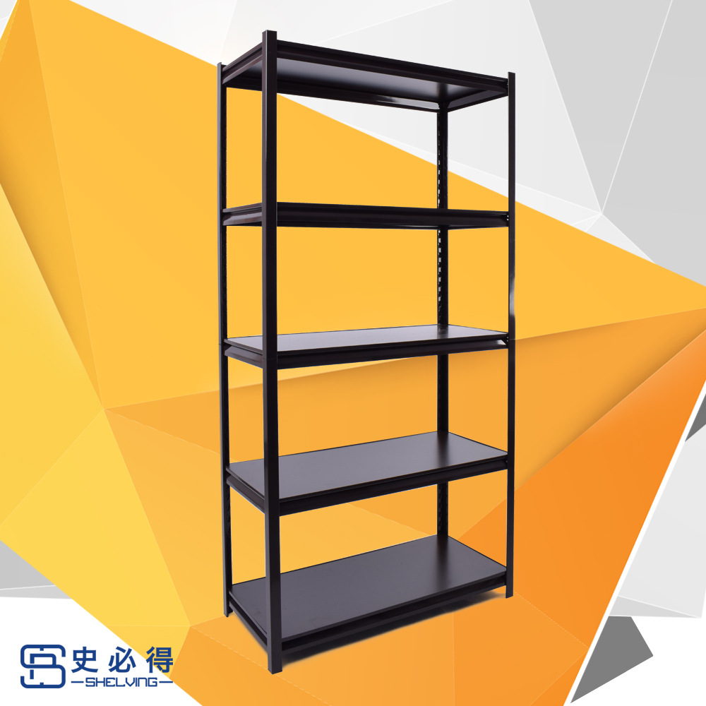 SHIBIDE Warehouse gourd hole screw free angle steel shelf light universal angle iron shelf grain and