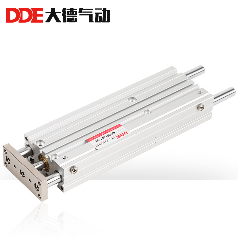 DDE MGPM thin guide rod cylinder TCM cylinder 20X20X30X40X50X60X70X80X90S