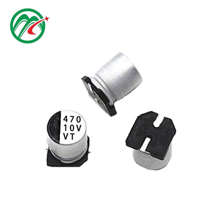 VT SMD aluminum electrolytic capacitor 470UF 10V 6.3*7.7 car capacitor