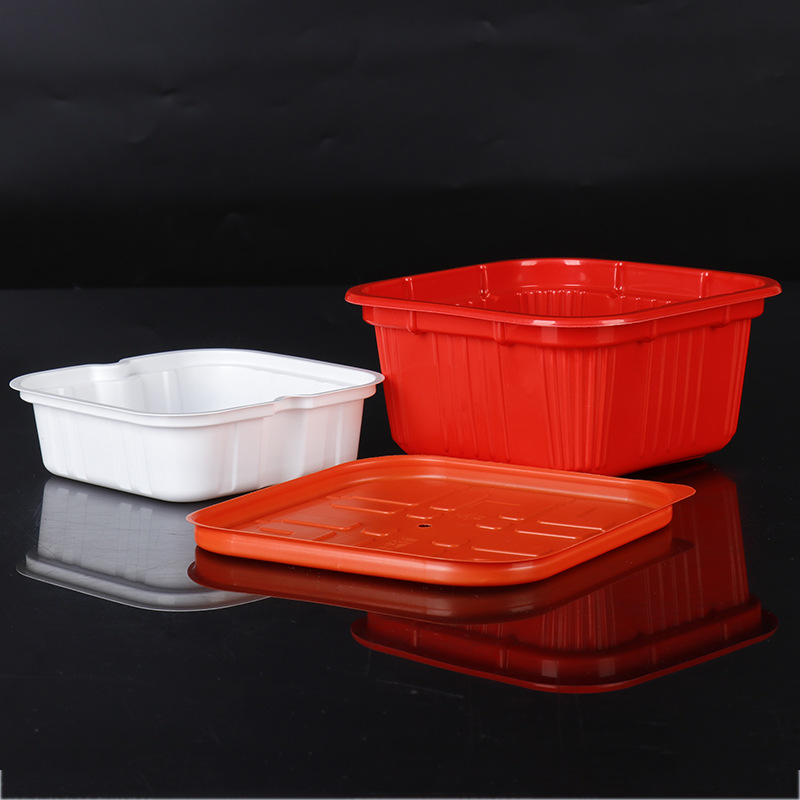 ZHAOYANG Blister packaging box custom plastic lunch box disposable self-heating hot pot box instant