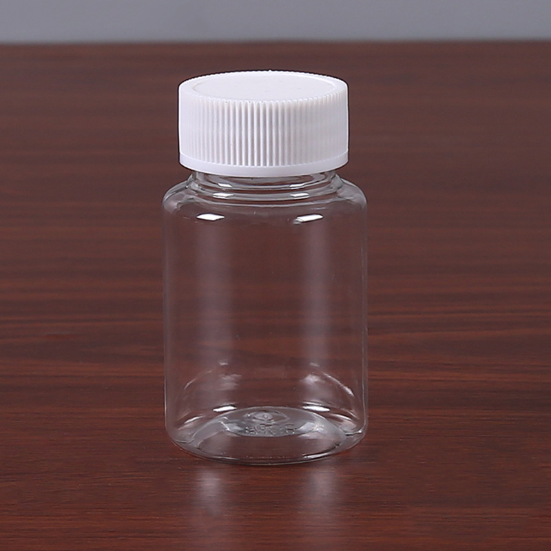 YOUDU 100ml plastic bottle PET transparent medicine bottle 100ml wide mouth sample bottle sub-bottli