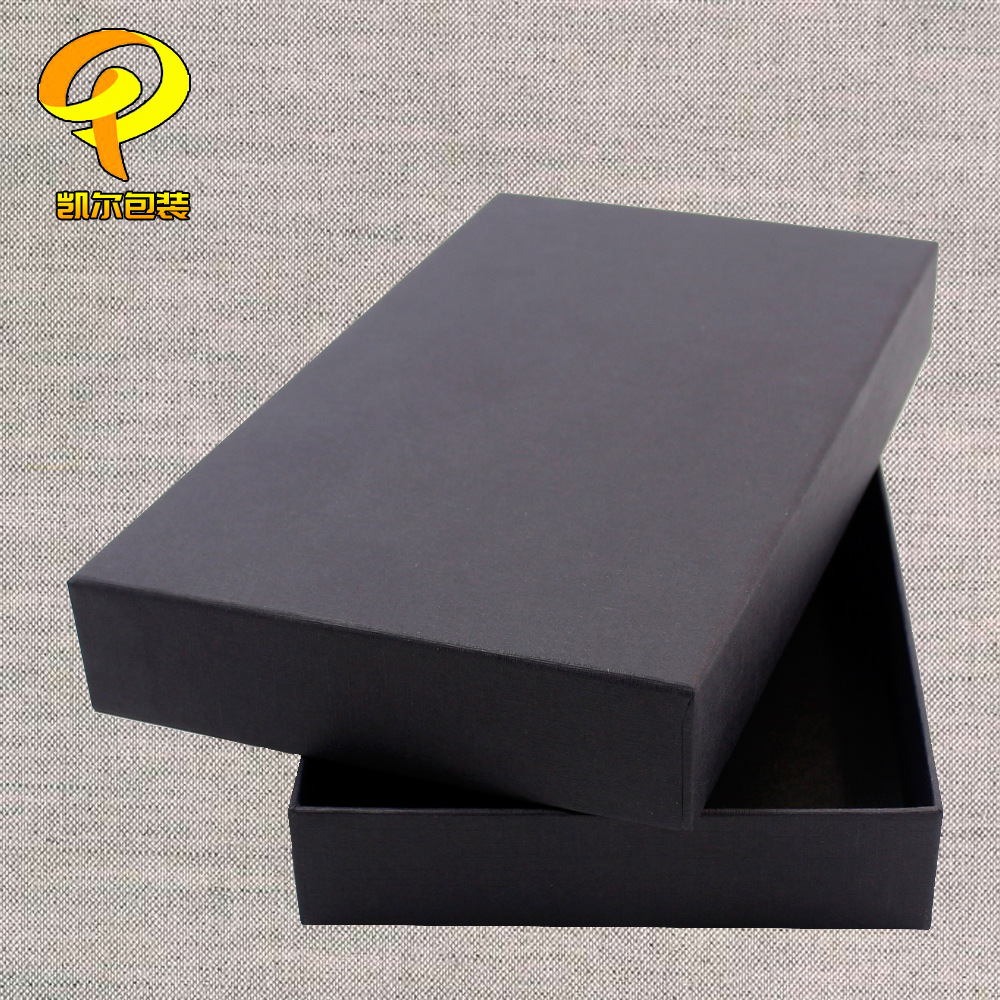 KAIER High-end custom world cover gift packaging carton top and bottom cover electronics jewelry pac