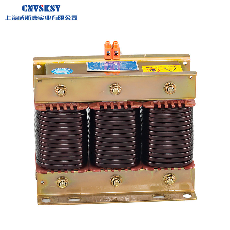 WEISIKANG CKSG series low voltage three-phase series filter reactor for 40kvar capacitor 2.8