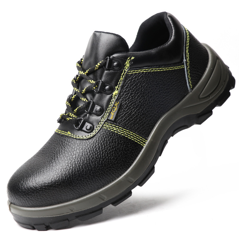 LEIDIANDUN Safety shoes Anti-smashing and anti-piercing protective safety shoes Wear-resistant steel