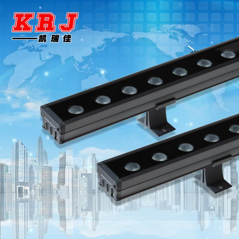 KAIRUIJIA Outdoor waterproof led wall washer lamp 18W24W36W linear flood light, bridge guardrail pro