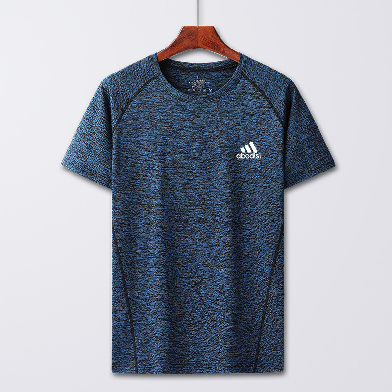 LANGYI Cationic quick drying t-shirt men's and women's short sleeve summer exercise sweaters coupl