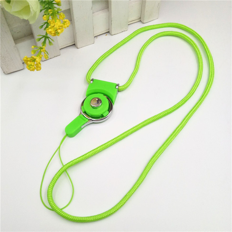 JC Two-in-one lanyard Two-piece split rotating mobile phone ring buckle shell rope mobile phone hang