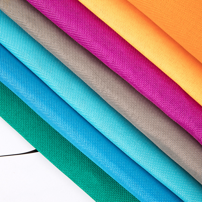 YONGHONG 600d woven fabric for handbags and bags, polyester plain weave Oxford cloth, compound coate