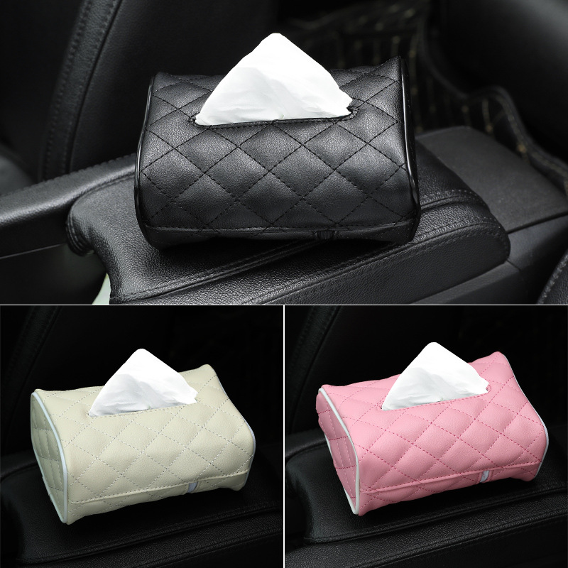 Hộp đựng khăn giấy cho ô tô .