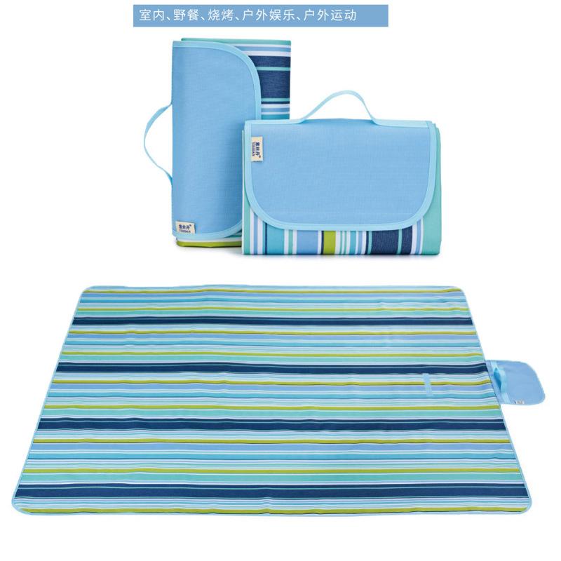 Lawn mat outdoor tent mat damp proof mat beach supplies picnic cloth waterproof travel picnic mat pi