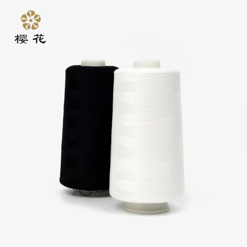 YINGHUA Black/White 602 size sewing thread polyester sewing thread sewing thread baby clothes enviro