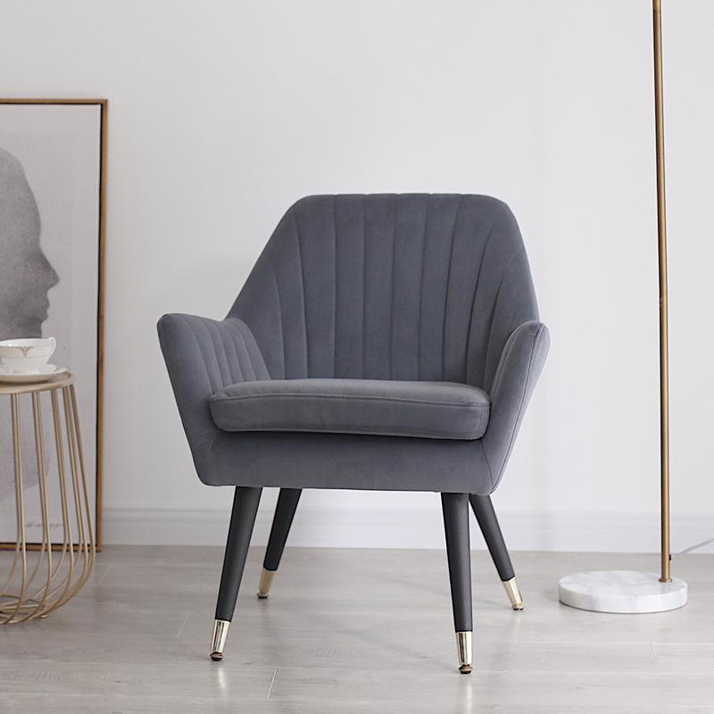 LYSN Nordic furniture single sofa simple household lazy sofa chair leisure room designer leisure fab