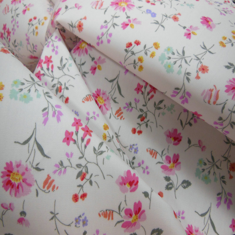 Cotton printed cloth 40S cotton poplin printing 133*72 full craft mercerized active printed cloth ba