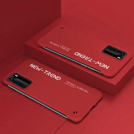 bao da điện thoại Ốp lưng điện thoại Huawei p40 không viền p40pro + ốp bảo vệ siêu mỏng 5g phiên bả