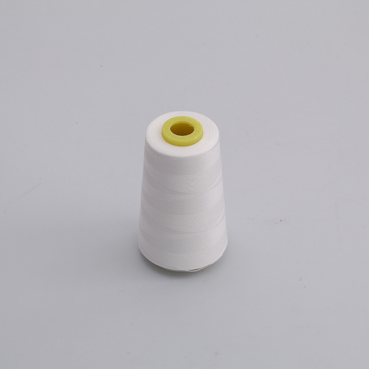 SHANMU Sewing thread 402/3000 yards white environmentally friendly polyester thread sewing machine t