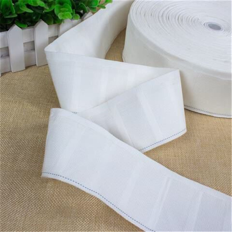 Curtain hook strap, sunscreen strap, thick four-claw hook strap, cotton strap wholesale