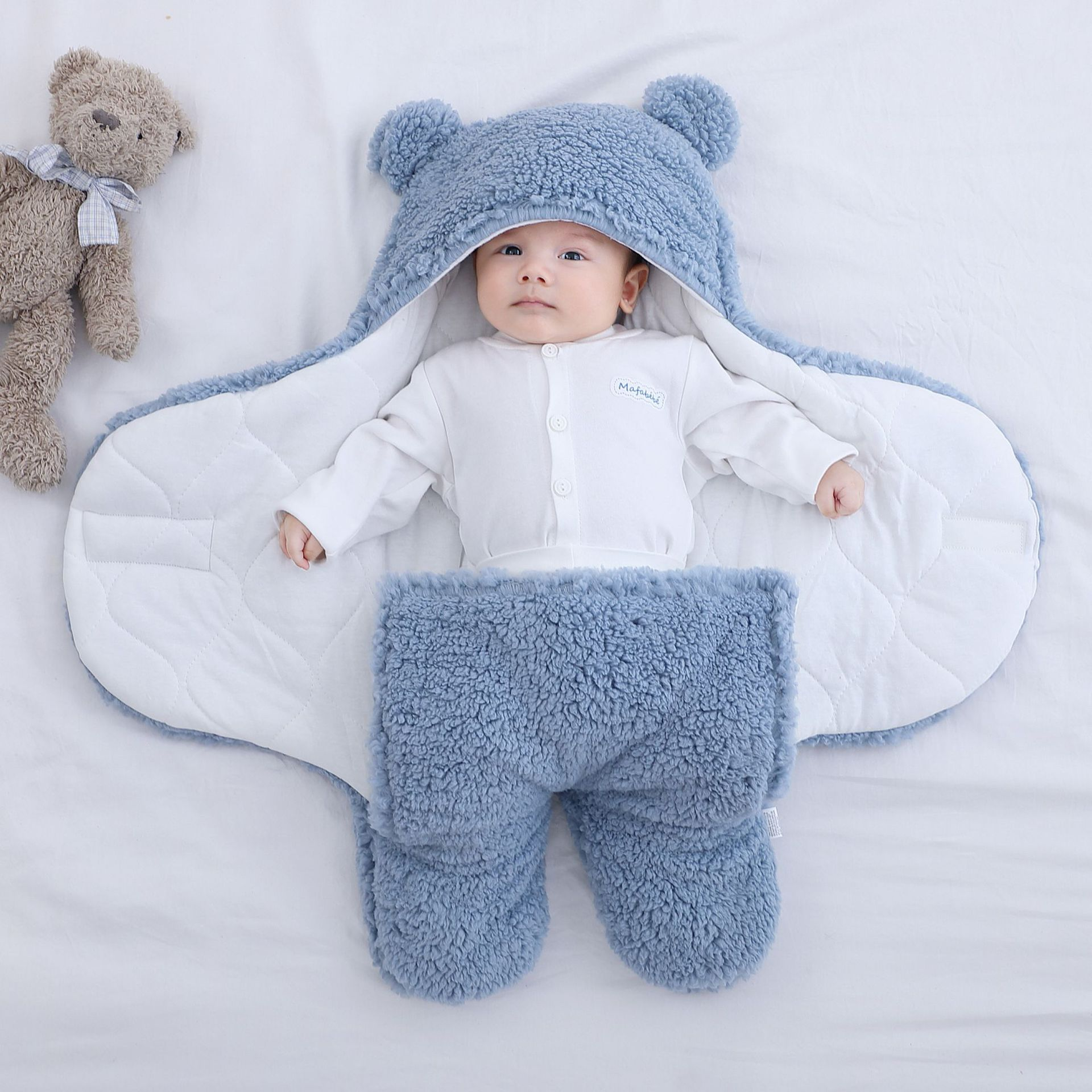 YINGYUESE Baby's cuddle, newborn's thickened covering in autumn and winter