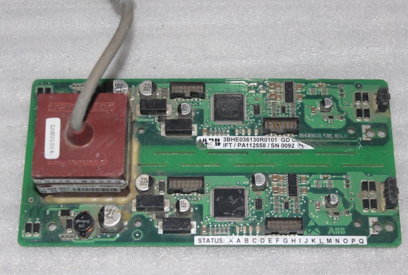 Máy tháo rời ABB bo mạch chủ biến tần cao áp 3BHE036130R0101