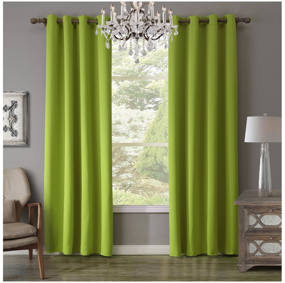 Pure color curtain window screen double-sided matte high precision blackout cloth