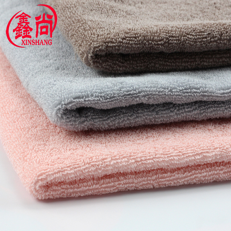 XINSHANG 32-ply cotton terry cloth double-sided terry textile fabric wholesale 350g/㎡ towel fabric s