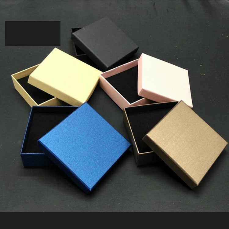 MONONG Art paper jewelry box jewelry packing box ring earnail Bracelet packaging