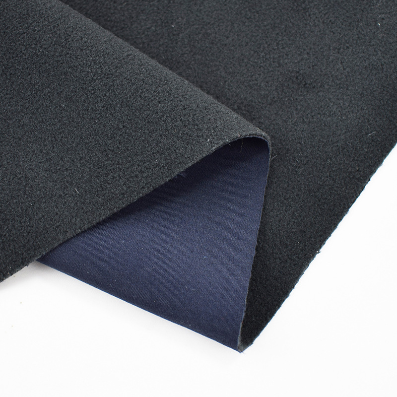 JIEXIA Polar fleece composite fabric woven fabric composite polar fleece can be added with TPU breat