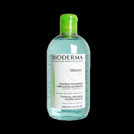 Bedma Tẩy trang  Nước tẩy trang Bedma của Pháp Liquid Blue Water 500ml Flagship Store Official Chính