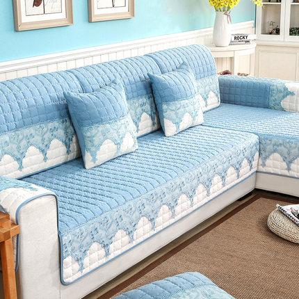 Vỏ bọc Sofa Đệm sofa bốn mùa đệm chống trượt nói chung sofa Bắc Âu bọc sofa đơn giản trọn gói khăn t