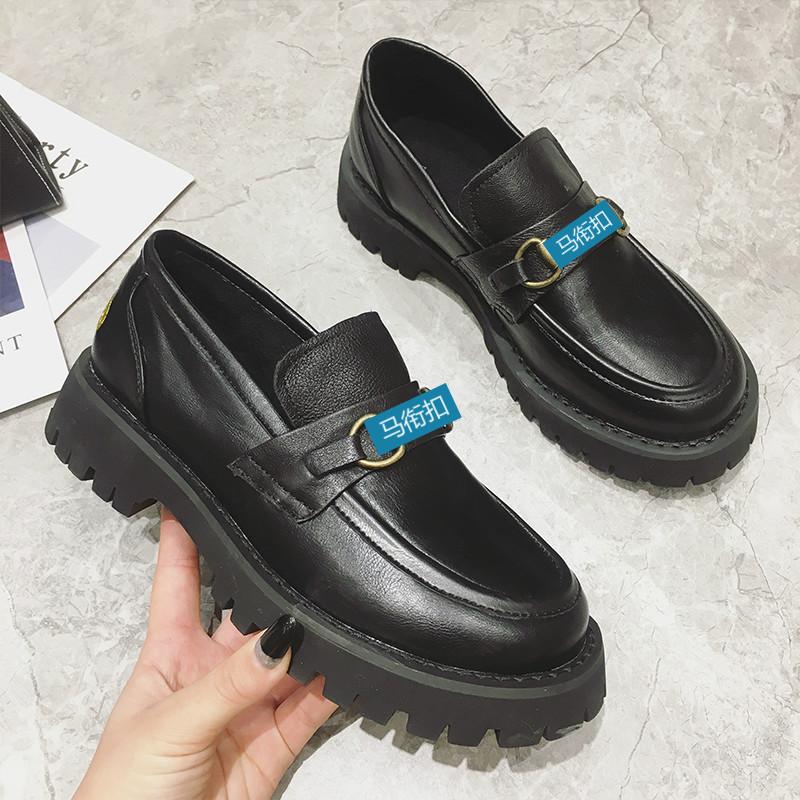 Giày mọi Da mềm đế dày kiểu dáng đơn giản cho nữ .
