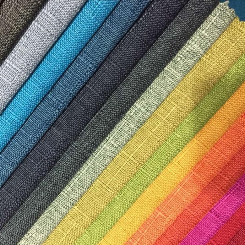 Sofa fabric linen cloth linen fabric table cloth cushion cloth pillow cloth cotton linen spot