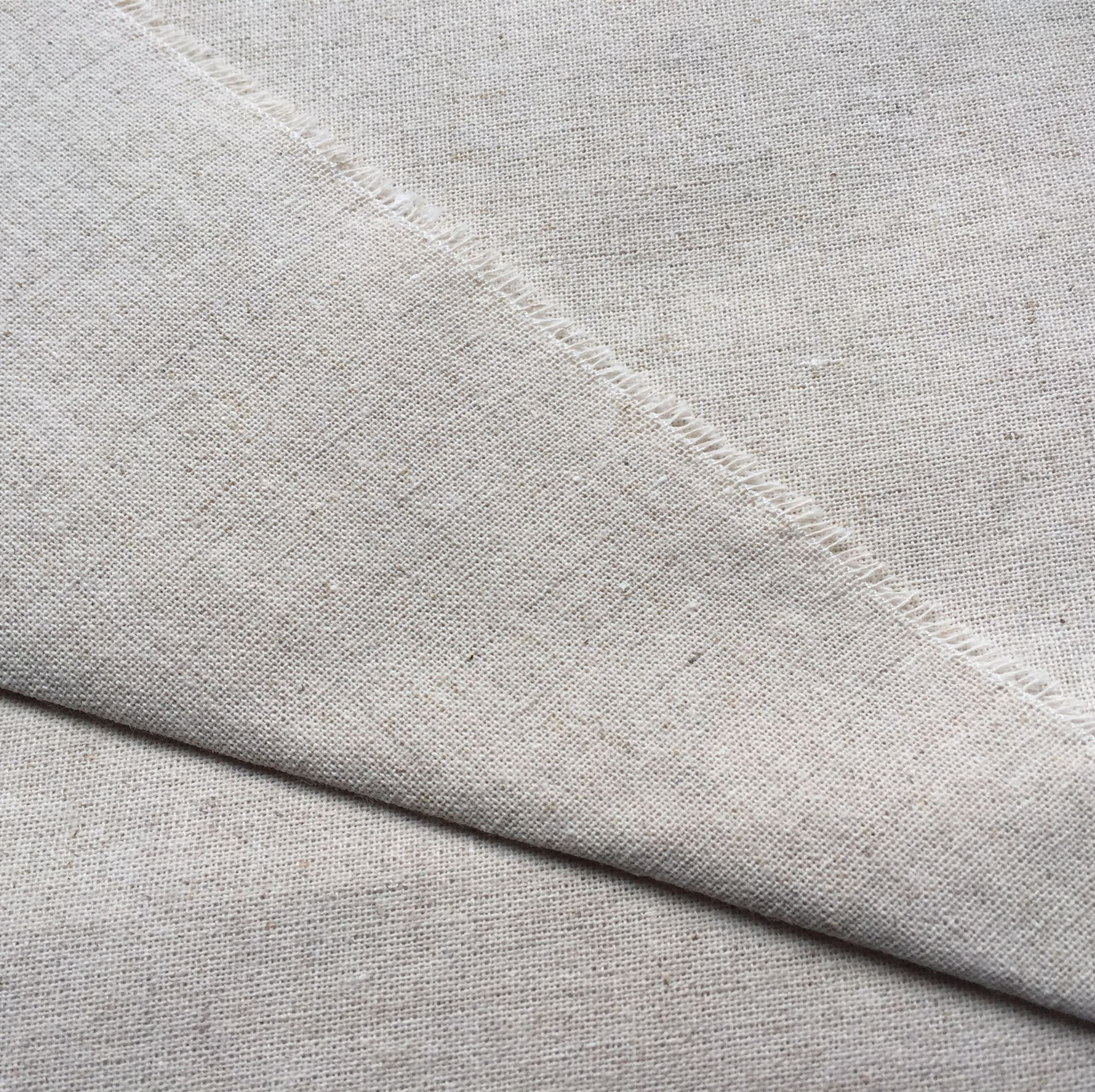 HEDU Primary color linen fabric, linen natural color linen fabric, fabric sofa, packaging background