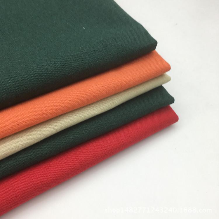 JIARUN Spot linen cotton fabric Pure color linen cloth Linen cotton linen clothing cloth Cotton line