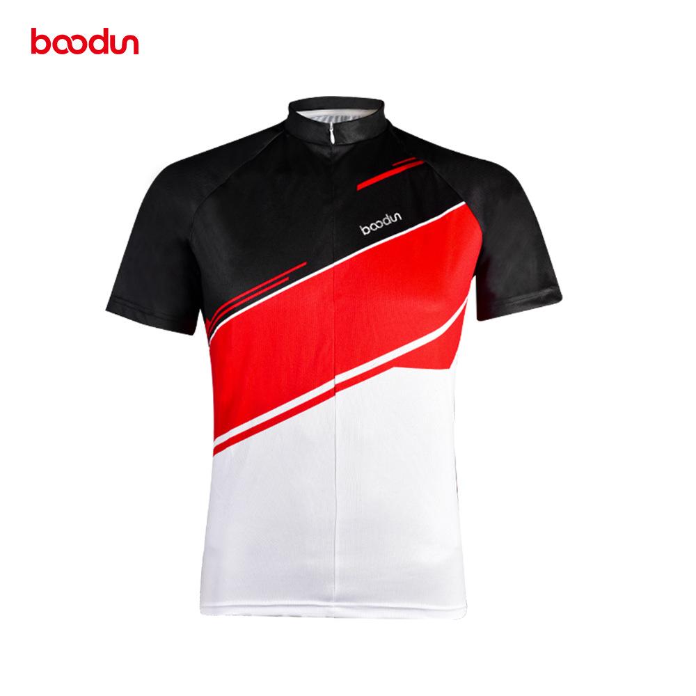 Boodun/Boodun new short-sleeved cycling clothes moisture wicking outdoor quick-drying cycling clothe