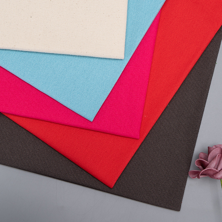HENGWEI Organic cotton canvas 12 a canvas fabric all cotton grey cloth handbag clothing outer case b