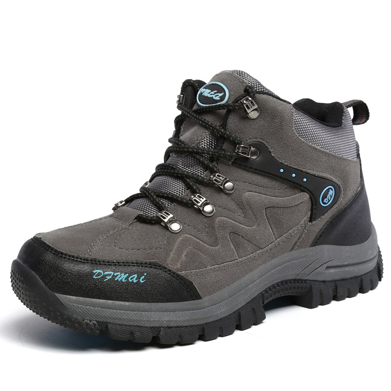 Giày đi bộ leo núi đường dài thoáng khí , chống trượt .